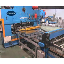 Automatic metal stamping punch press machine for end making