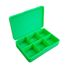 Fast Delivery for Drug Bottle Case Custom Logo Branding Six Slots Plastic Pill Box supply to Lesotho Wholesale
