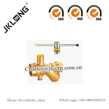 Brass Ball Valve with lock cw617n brass valve
