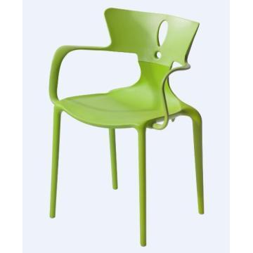 Light handrail plastic chair