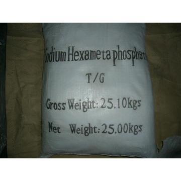 Гексаметафосфат натрия в качестве Умягчителя воды, Inhibiter