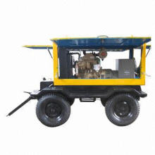 Trailer Generator, Hyundai Diesel Engine Generator Set with Stamford Alternator Mobile Generator