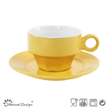 Shinning Glazing Color Cup & Saucer