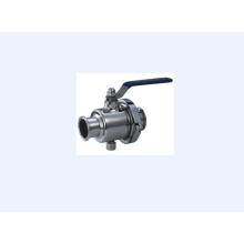 Sanitary Ball Valve Without Stagnation Bacteria
