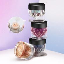 Single Color Professional Shimmer Eye Glitter Eyesahdow Powder 9 Color Vegan Cruelty Free Loose Eyshadow Powder