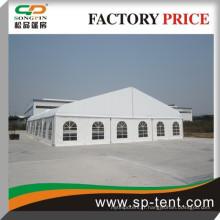 300 personnes assises de tentes en aluminium de 18x25m tentes de mariage en courbe extérieure à Guangzhou