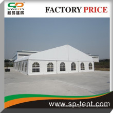 300 People seated 18x25m aluminum tents wedding outdoor curved tent in Guangzhou