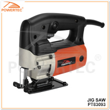 Powertec 55mm 450W Hand Wood Cutting Tools Electric Jig Saw
