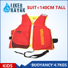 Kids inflável vida colete / jaqueta
