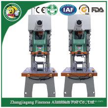Eingebranntes Aluminiumfolie-Geschirr, das Maschine herstellt