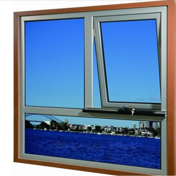 Thermal Break Double Glazed Aluminum Pivot-hung Window