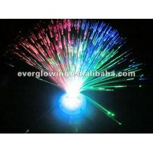 flor cambiante de fibra óptica de luz led de color