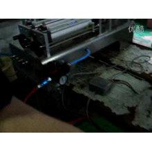 Machine de remplissage liquide de doubles têtes chaudes de vente pour le shampooing, le gel de bain, le détergent liquide 100-1000ml