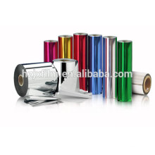 JINXIN Coated/colorful film/Silver/ yellow/ bule/ red/ black PET film