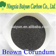BFA 92% d'oxyde d'aluminium brun / sablage brun usine de corindon