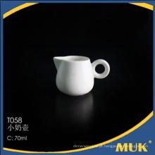China atacado de venda a quente design de flores de leite de leite de cerâmica