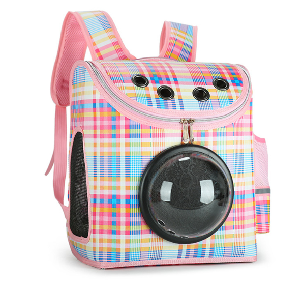 Double Shoulder Backpack For Small Dog And Cat