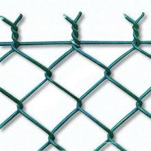 Valla de enlace de cadena galvanizada en caliente DIP