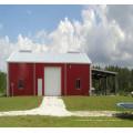 Bonne isolation maison préfabriquée pour hébergement