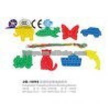 JQ1093 Plastik Tier Threading Bausteine Link Spielzeug Für Verkauf