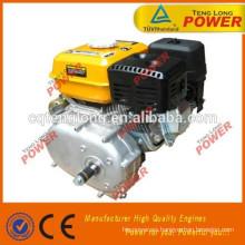 mejor calidad portátil samll 168f 5.5hp motor gasolina con embrague para la venta