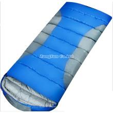 Sacs de couchage extérieurs pour adultes, vente directe de bleu, sac de couchage