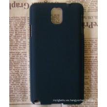 Caja dura de goma del teléfono plástico 2014 para la nota 3 de Samsung