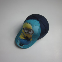 Fashion Minions Print Kids Cap
