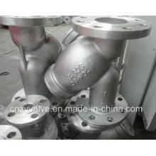 JIS Scs13 10k Y Тип фланцевого фильтра (GL41W-10K-DN80)