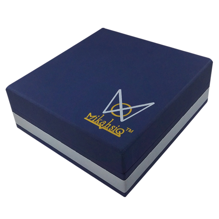 Embossing paper jewelry display box