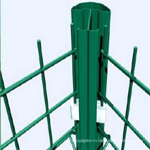 Загородка сваренной сетки/ПВХ покрытием Изгибающий забор