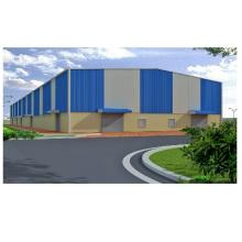 Commercial Modular Warehouse Custom Steel Prefab Building for Storage