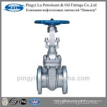 ANSI standard cast steel cuniform gate valve class 150