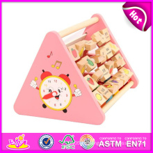 2014 Holzblock Puzzle Spielzeug für Kinder, Holzspielzeug Block für Kinder, pädagogische Holzblöcke Set für Baby W12D008 Fabrik