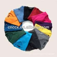 13STC5572 últimas moda design blusas de decote em V para homens
