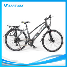 Shimano altus 8 speed mid-drive city electric bike