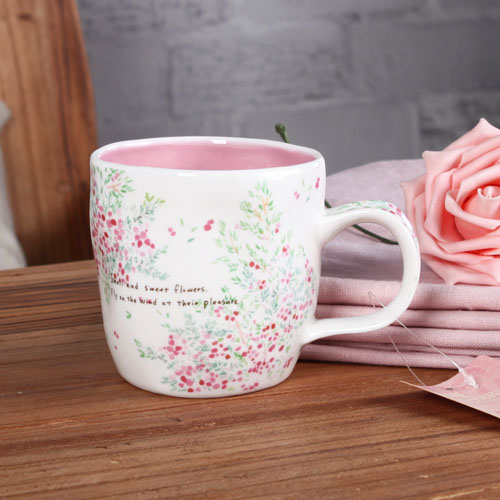 Flower Durable Coffee Mug