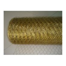 Decorative Brass Chain Link Wire Mesh