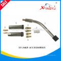 Heißer Verkauf Super Qualität Binzel 36KD / 40KD / 501D Luftgekühlte Schweißbrenner-Kontakt-Spitze