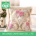 Square Custom Flower Printing Backrest Cushion