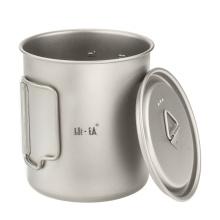 Складная чашка для воды из чистого титана
