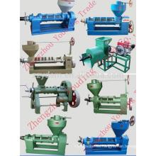 presionando la máquina de aceite de girasol 6YL-165 con el motor eléctrico o el motor diesel (máquina de la prensa del tornillo de tornillo)