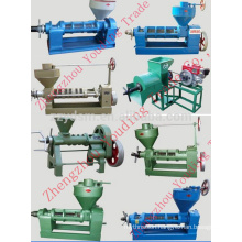 sunflower oil pressing machine 6YL-165 with electric motor or diesel engine (Screw oil press machine )