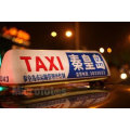 custom plastic taxi advertising roof top signs box