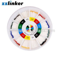 Round Package Dental Gutta Percha Points Absorbent Paper Ponts PP Ponints