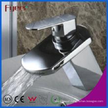 Fyeer Brass Chrome Plated Bathroom Basin Sink Faucet (Q3027)