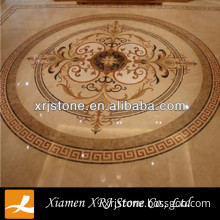 water jet marble pattern floor design with cheap price