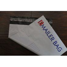 Große Mengen farbige gedruckte Logo-Plastiksendung-Tasche