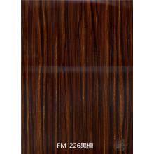 Revestimiento de pared de silicato de calcio y fibra prepintado con UV