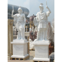 Carving Stone Marble Warrior Sculpture Statue for Garden Decoration (SY-X1690)